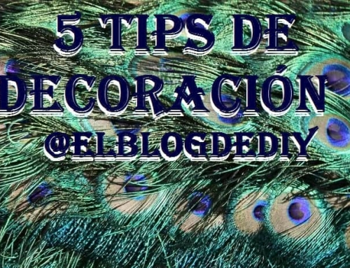 5 Tips de decoración